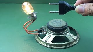 Make Free Energy generator Light Bulb - Homemade new inventions project 2019