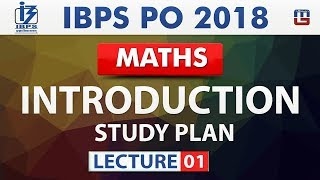 Introduction   Study Plan   Lecture 1   IBPS PO 2018   Maths   Live at 10 am