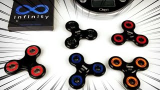 Blacktree Utility Premium Fidget Hand Spinners + Spin Time Test!