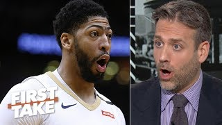 Why should Anthony Davis have to pay for the Lakers' mistakes? – Max Kellerman | First Take