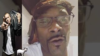 snoop Dog reaction to eminem bet cypher 2017
