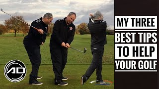My Three Best Tips To Help Your Golf