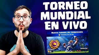 ¡TORNEO MUNDIAL CON TU NUEVO MAZO FAVORITO! | Malcaide Clash Royale