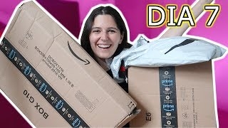 COMPRAS en AMAZON! Unboxing 7/7 (dia 7) Caro Vlogs