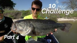 THIS SPOT IS LOADED! -10 HOUR bass FISHING challenge (Part 4)