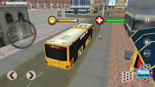 Modern City School Bus Simulator 2017 / Bus Racing Games / Android Gameplay