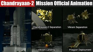 Chandyaan-2 Mission Official Animation by ISRO