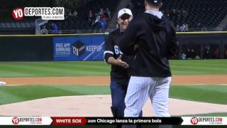 Hector Lozano celebra la hispanidad con los White Sox