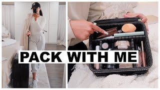 PACK WITH ME + TRAVEL ESSENTIALS | Marie Jay