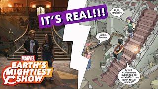 ″Marvel's Runaways″ Season 2 Behind-the-Scenes Set Tour | Earth's Mightiest Show Bonus