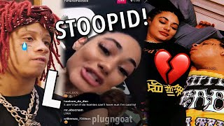Trippie Redd's New EX Girlfriend MADE HIM CRY?!! | HiMyNamesTee IG Live RANT (breakup)