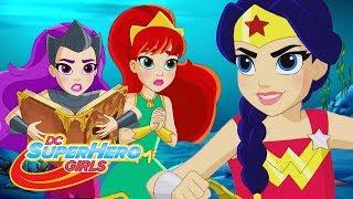 Leyendas De Atlantis | Primeros 10 Minutos | DC Super Hero Girls Latino America