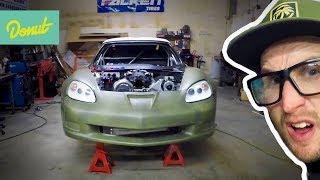 Carbon Kevlar Body Kit from HGK! - Drift Corvette | Field Prep EP 12 | Donut Media