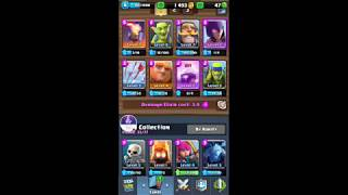 My Clash Royale stream part 17 and COC stream Part 2