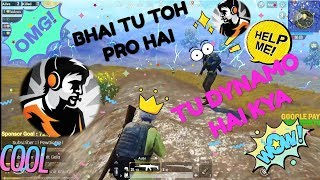 DYNAMO PLAYED WITH RANDOM SQUAD AND GETS CHICKEN DINNER || FAKE DYNAMO FUNNY GAMEPLAY || PUBG MOBILE