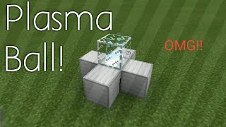 How To Make A Plasma Ball - Minecraft (PC, PE,)