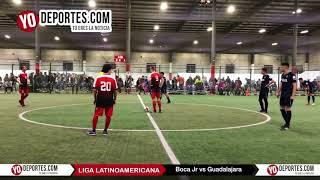 Boca Jr vs. Guadalajara Champions Liga Latinoamericana