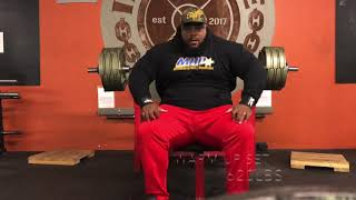 ROAD TO 800lb BENCHPRESS || JULIUS MADDO || 700lbs X 3 Reps
