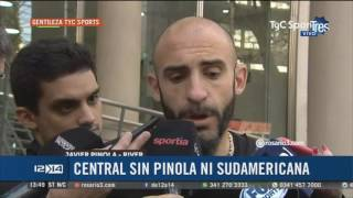 Habló Pinola tras su polémica salida de Central