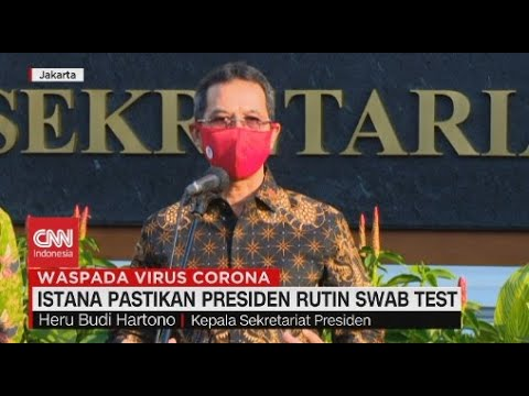 Istana Pastikan Presiden Rutin Swab Test
