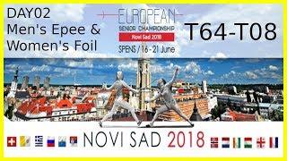 European Championships 2018 Novi Sad Day02 - Piste 8