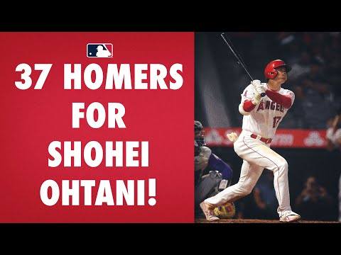 Shohei Ohtani goes deep to give the Angels the lead!