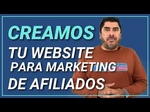 Diseño de Página Web para Marketing de Afiliación o Afiliados