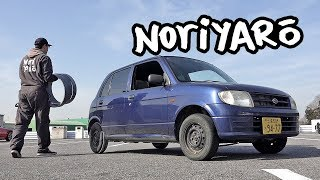 I learned to PVC drift in this Daihatsu