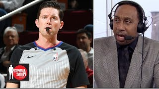 Stephen A. calls out refs from Lakers-Rockets | Stephen A. Smith Show
