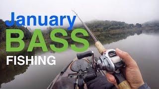 January Bass fishing in California