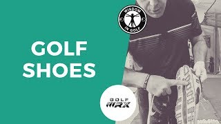 WHY YOU NEED TO PRACTICE IN GOLF SHOES TOO | Golf WRX