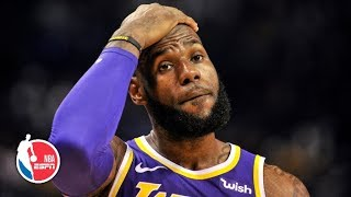 LeBron's 1st season with Lakers one of the biggest disappointments of his career | NBA on ESPN