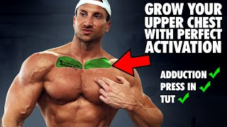 The ONLY 3 Upper Chest Exercises You Need For The ″Upper Chest Line″