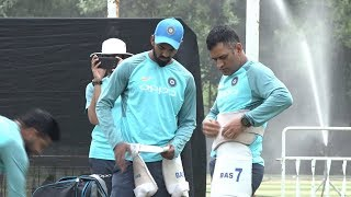 Watch: MS Dhoni, Raina preparing for T20 series against Proteas   India Tour of South Africa