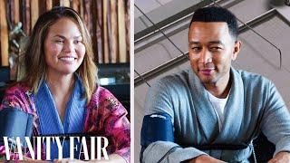 John Legend and Chrissy Teigen Take a Lie Detector Test   Vanity Fair