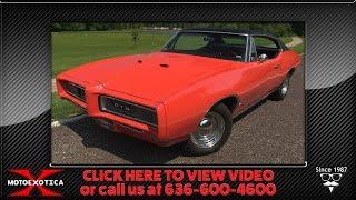 1968 Pontiac GTO Coupe || For Sale