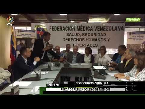 Venezuela - Trabajadores del sector salud anunciaron paro indefinido - VPItv