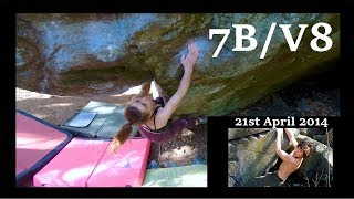 Cordelia Crushing 7B/V8 & TB To Me On My First Boulder Ever