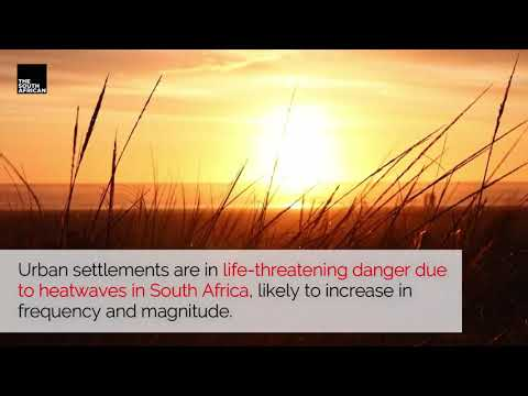 Heatwave in South Africa a major threat to life