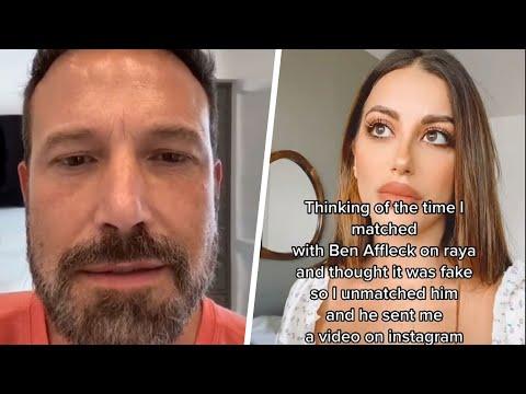 Ben Affleck Goes Viral on TikTok After Influencer Shares Video He Allegedly Sent Her
