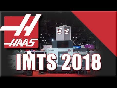 Crashing a HAAS at IMTS 2018!