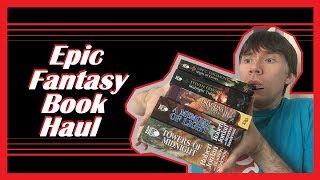 Fantasy Book Haul 2018