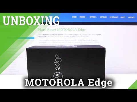 What's in the box? – Unboxing of MOTOROLA Edge