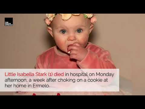 Little Isabella dies after chocking on a cookie