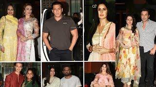 Bollywood joins Salman Khan's Eid Party 2018 | Katrina Kaif |Sonakshi Sinha |Jacqueline Fernandez