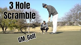 3 Hole Scramble Challenge with GM Golf