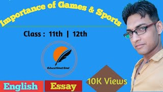 An essay on importance of games and sports