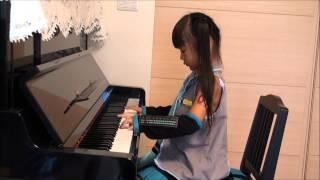 『千本桜』 初音ミク ピアノ ☆小学1年生(6歳)