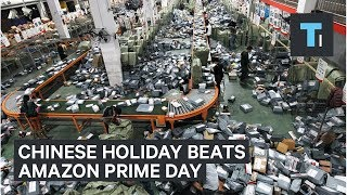 Amazon's ″Prime Day″ has nothing on Alibaba's ″Singles' Day″