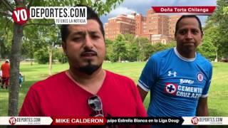 Mike Calderon Fundador de Doña Torta Chilanga y dueño del equipo Estrella Blanca de la Liga Douglas